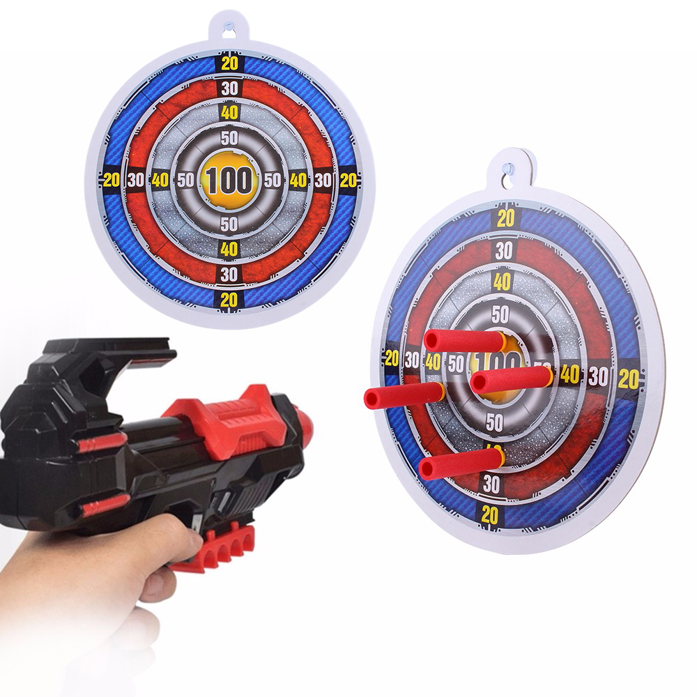 Rowsfire Diy Soft Bullet Transmitter Dart Board Target For Shooting Practice For Kids And Parents Toy Accessories Outdoor Fun & Sports