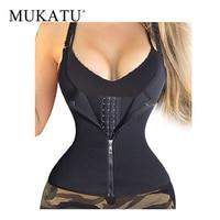 MUKATU Hot Shapers Neoprene Sauna Sweat Vest Waist Trainer Cincher Women Body Slimming Trimmer Corset Workout