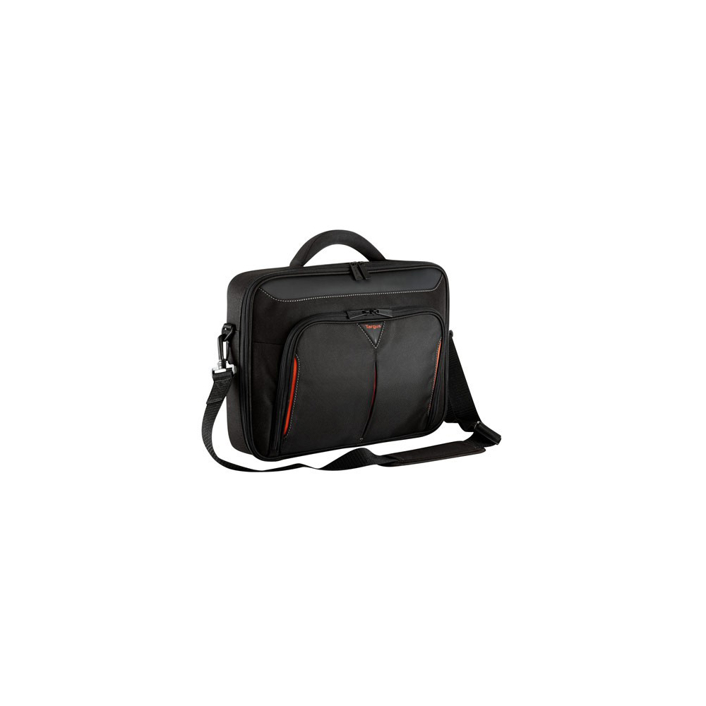 Computer & Office>>Laptop Accessories>>Laptop Bags & Cases Bag TARGUS for laptop 18 Targus Classic+ black/red (CN418EU-50) [whorse] famous brand vintage genuine leather men handbag briefcase bag crazy cowhide mens laptop business messenger bags w5150