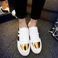 Superstar Zapatos de Los Hombres de Alta-top Zapatos Casuales Zapatos de Invierno y El Algodón Patchwork Lentejuelas No Guardan Los Zapatos Calientes Al Aire Libre Durable Zapatos antideslizantes