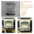 Adaptador de Rádio Do Carro 2 Din Quadro Fascia Para Ranger 2006-2010 Everest 2006-2013 MAZDA BT-50 2006 Carro estéreo DVD Painel de bordo