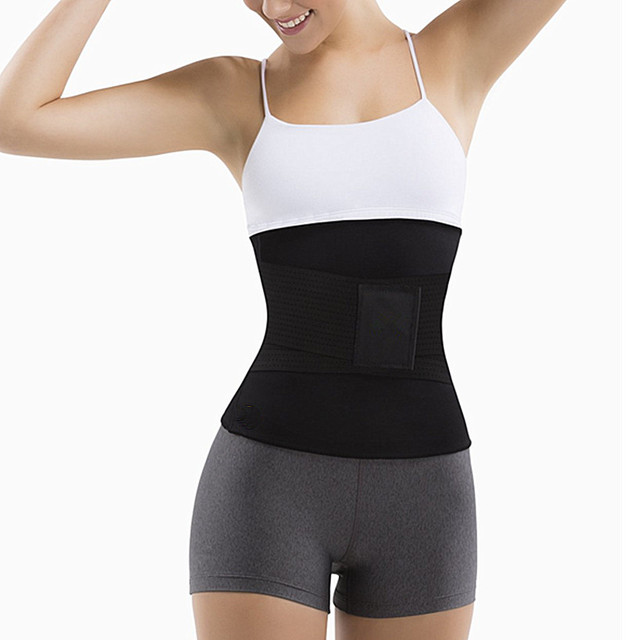 New Plus Size Neoprene Sweat Sauna belt Body Shapers Belt Waist Trainer Slimming Belts Shapewear Weight Loss Waist Shaper Corset