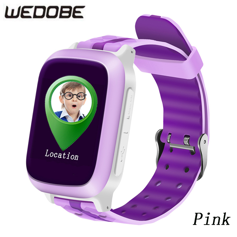 WEDOBE Smart Phone GPS Watch Children Kid Wristwatch DS18 GSM WiFi Locator Tracker Anti-Lost Smartwatch Child PK Q80 Q90 V7K Q50