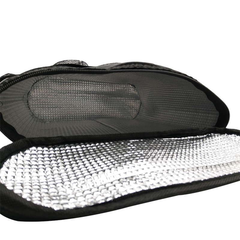 Black Car Insulated Food Storage Bags