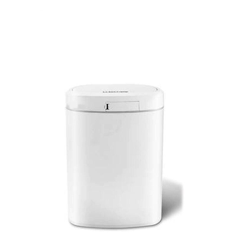 10L cuisine salon toilette maison smart sensible poubelle sacs poubelles seaux en plastique poubelles capteur poubelle ronde