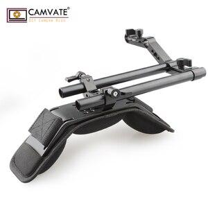 Image 1 - CAMVATE Camera Shoulder Mount Kit With Foam Shoulder Pad & Z Shaped Railblock Rail For DSLR Camera / DV Camcorder Support System