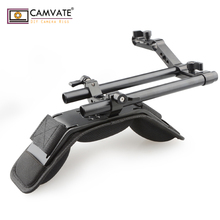 CAMVATE מצלמה כתף הר ערכת עם קצף כתף Pad & Z בצורת Railblock רכבת עבור DSLR מצלמה/DV למצלמות מערכת תמיכה