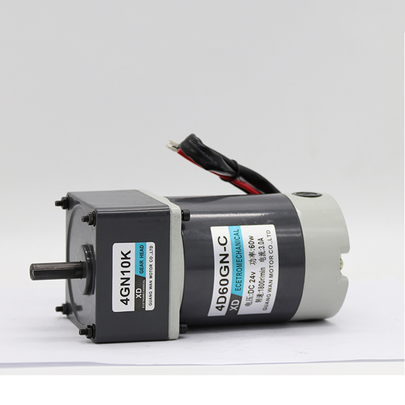 New 12V/24V DC 90W Gear Motor Miniature High Torque Motor Slow Speed Small Motor Easy Gear Motor 12v24v dc gear motor 60w miniature high torque motor slow speed small motor
