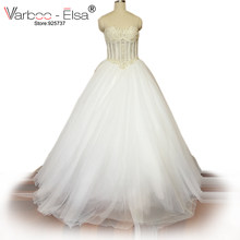5bc42031c1234 High Quality Lace Bodice Ball Gown Wedding Dress-Buy Cheap Lace ...