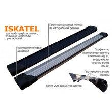 Боковые пороги(подножки) для Toyota Hilux(2011-) Zaliv ISKATEL-THilux11
