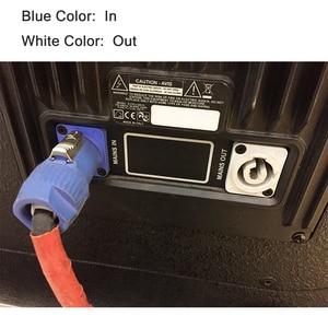 Image 5 - 100 יח\חבילה 3 פין AC כוח מחבר זכר תקע NAC3FCA NAC3FCB 20A/250V AC כוח תקע לשלב אור LED מסך חוט מחבר