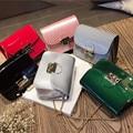 Women PU Leather Handbags Messenger Bags Fashion Lock Small Shoulder Bag Ladies Mini Crossbody Bags Candy colors female Daily