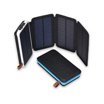 KERNUAP Folding Solar Panel 12W 10W 2