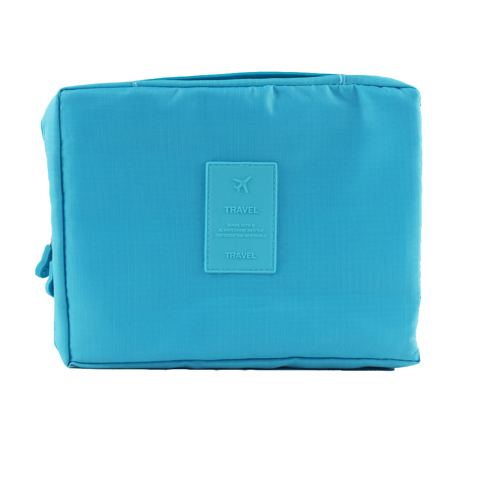 Blue High Capacity First Aid Kit EVA Person Portable Storage Bag For Family Waterproof Drug Pack Security Medical Emergency Kits
