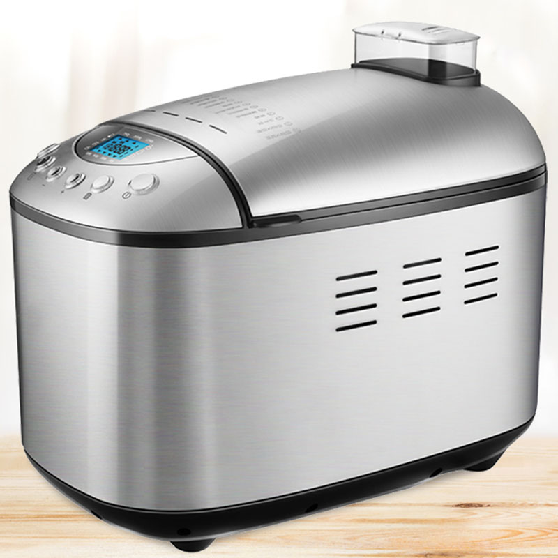 220V electric automatic bread maker 1.25kg toast intelligent dough mixer bread making baking machine 15h timing/15 menu for home