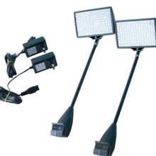 25W LED  lamp Exhibition Stand Aluminum Arm Light for Backdrop Wall