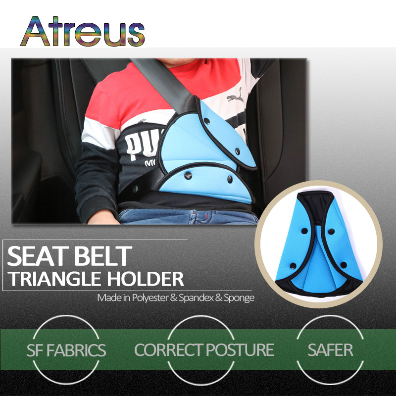 Atreus Car Safety Belt Adjust Child Protection Device For Abarth Fiat 500 BMW E60 E36 E34 Mercedes Benz W204 Volvo XC90 V70