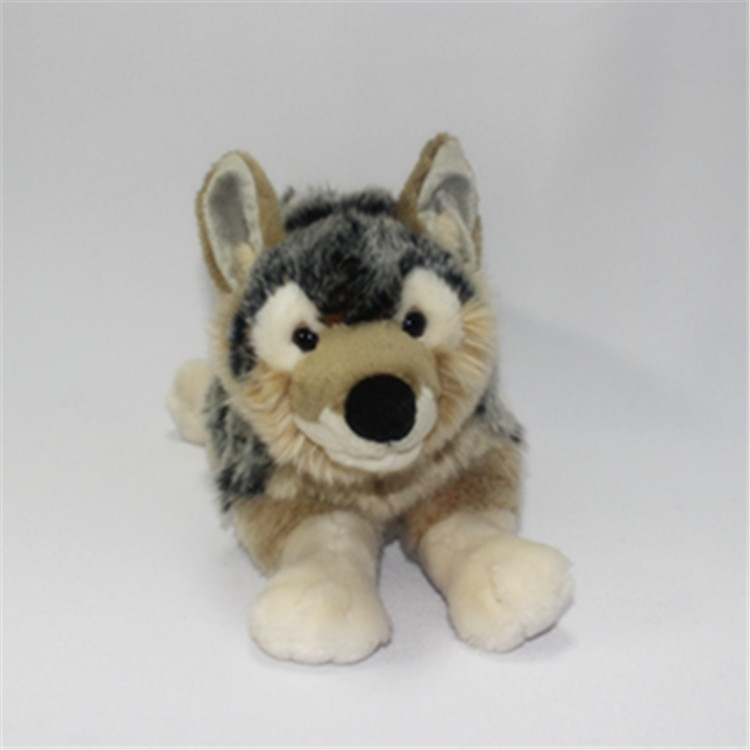 Big Wolf Plush Toy Children Gifts Simulation Animals Coyotes Doll Toys Store simulation rare birds puffin doll plush toy wild animals dolls ornaments children s toys gifts