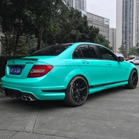 2pcs 50*150cm Electro optic metal Lake Green Car Body Film Matte Beautiful Luxury Car Vinyl Wrap Styling Sticker for Bike Laptop