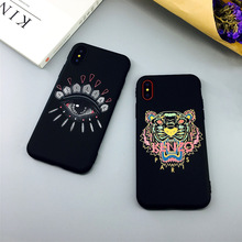 KENZO Phone Case for iPhone 6 6s Plus 7 8 Plus X XR XS Max