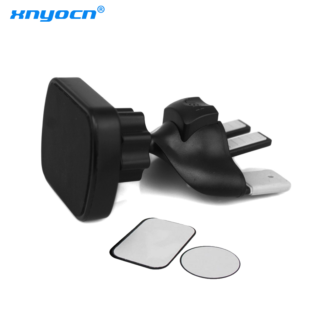 Magnetic Car Phone Holder Clip 360 Degree Adjustable Car CD Slot Air Vent Mount Stand Bracket Universal For IPhone For Samsung