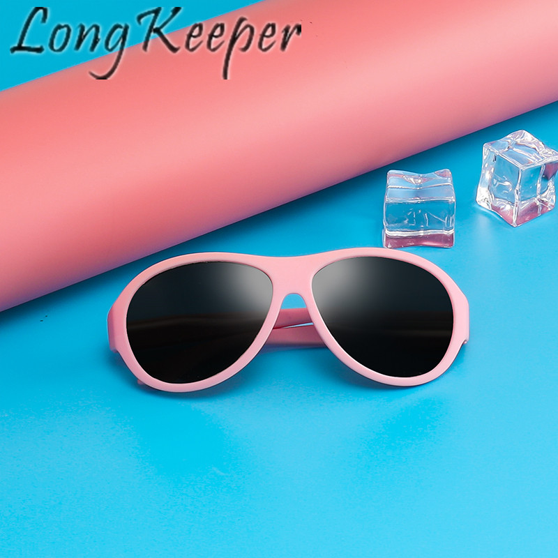Long Keeper Kids Polarized Sunglasses Children Cool Sun Glasses UV Protection Eyeglasses Eyewear Boy Girl High Quality Fashion