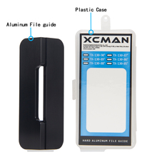 цена на XCMAN Alpine Snowboard Hard Aluminum Racing Side Bevel Angle File Guide CNC made