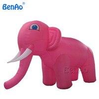 Trasporto libero su ordine prodotti di promozione Z009 pink elephant animale gonfiabile con il vostro logo per la pubblicità
