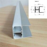 Precio 5 30 unids lote 40 pulgadas 18mm hebilla de placa Perfil de aluminio LED de iluminación