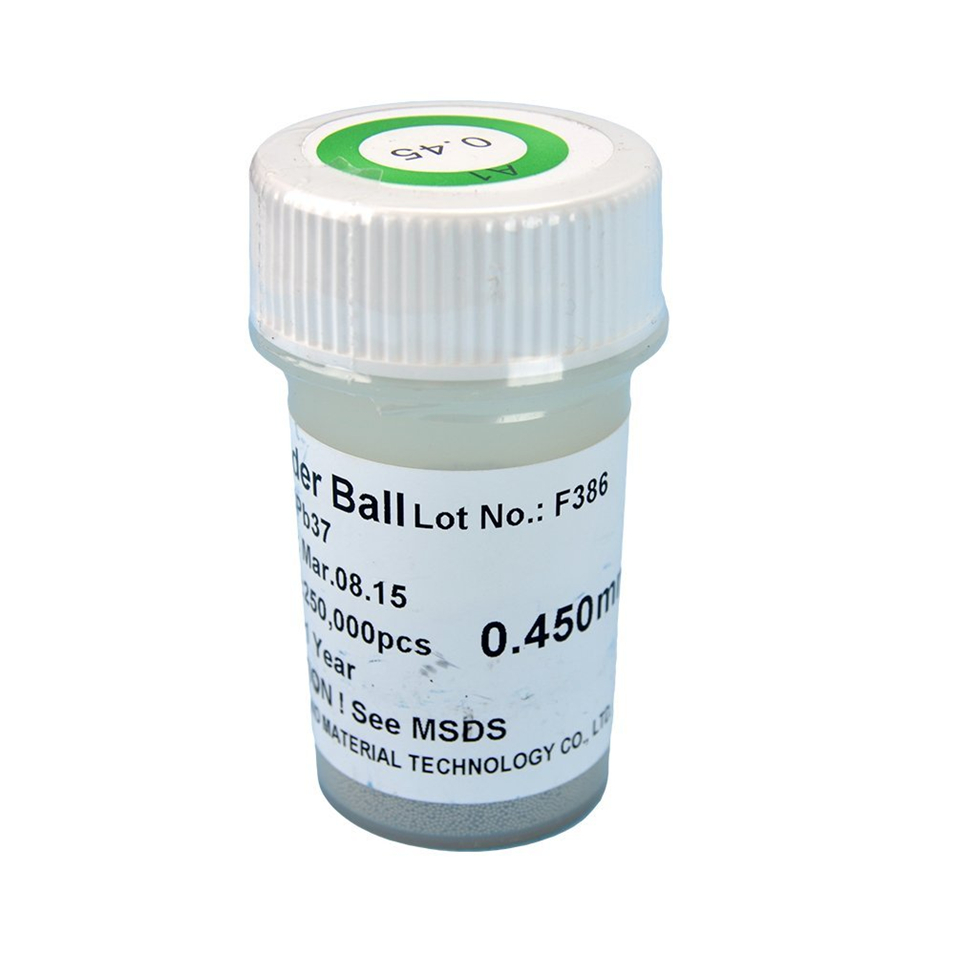 цены PMTC 250k 0.45 mm Leaded BGA Solder Ball For BGA Rework Reballing Soldering Welding Repair