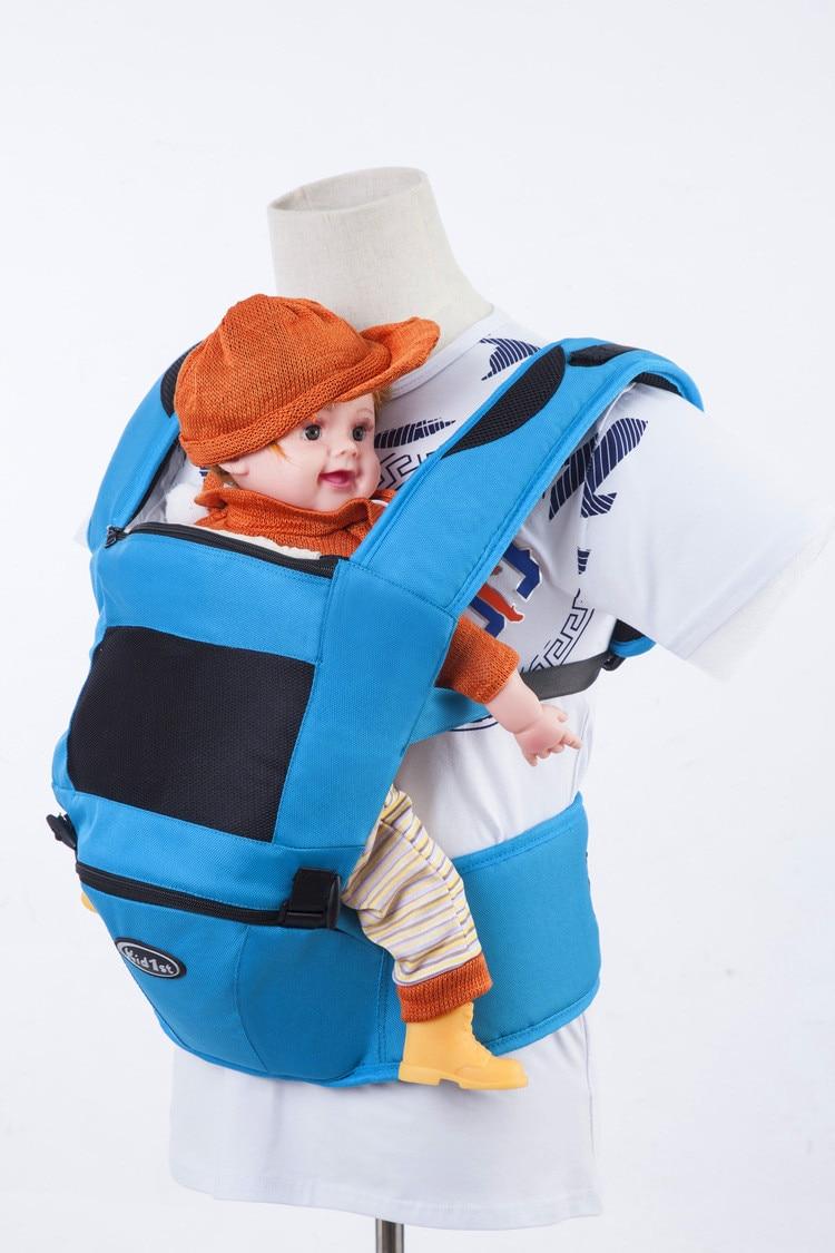 ФОТО  Multifunctional Baby Carrier Organic  Newborn Wrap Sling Baby Backpacks Adjustable Kids Baby Carrier Sling Carriage