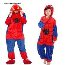 Animal pajamas spider-man  adult women flannel animation cartoon Halloween Costums animals of men Unisex