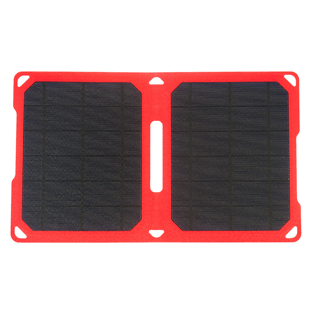 2018 New PowerGreen 10 Watts ETFE Solar Panel Monocrystalline Silicon Solar Mobile Phone Charger for Phones