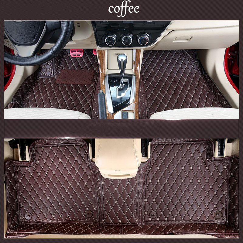 Lsrtw2017 Car Styling Leather Car Floor Mats Rug For Toyota