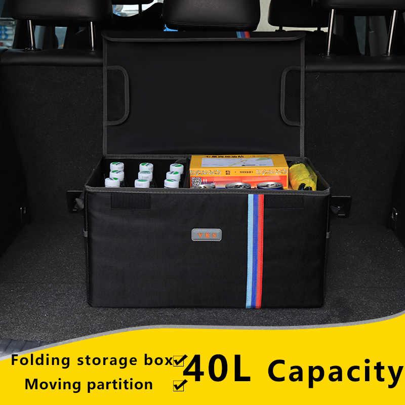 Багажник автомобиля, Организатор Коробка для хранения для Benz Ford toyota автомобиля BMW внедорожник загрузки складной путешествия отдых коробка для хранения для авто багажник