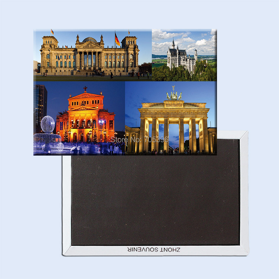 Tourist refrigerator magnets 78 54mm germany tourist for Attraction 78