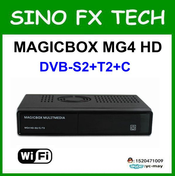 Original Magicbox MG4 HD Tuner DVB-S2 DVB-C and DVB-T2 sat receiver magic box mg4 more powerful sat integral s 1221 hd stealth купить есть в наличии