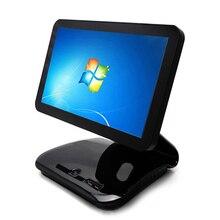 Элегантный pos системы 15,6 дюймовый сенсорный экран кассовый аппарат pos машина с фортепиано краски кассовый аппарат точки продаж