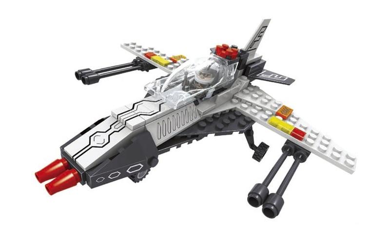 Model building kits compatible with lego city aerospace rescue plane 117 Pcs 3D blocks Educational model building toys hobbies