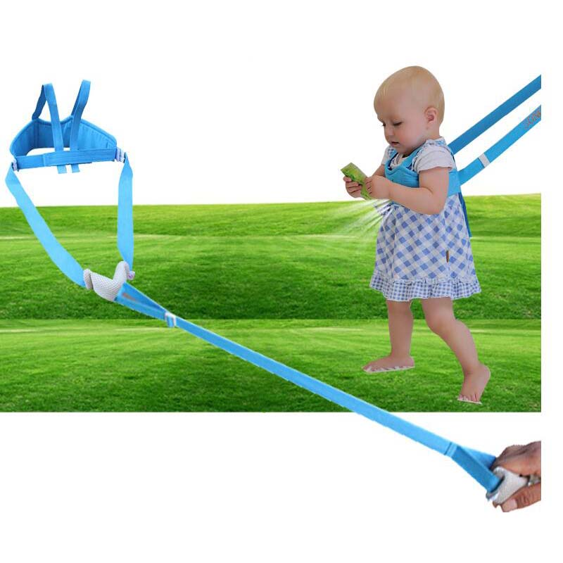 New Baby Four Seasons Breathable Toddler With Baby Harness Assistant Child Traction Belt for Children To Learn Walking Training(China)