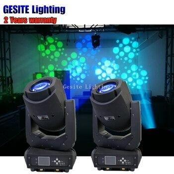 2 sztuk/partia 200 W LED ruchome głowy wiązki lampy punktowe dla profesjonalne oświetlenie sceniczne
