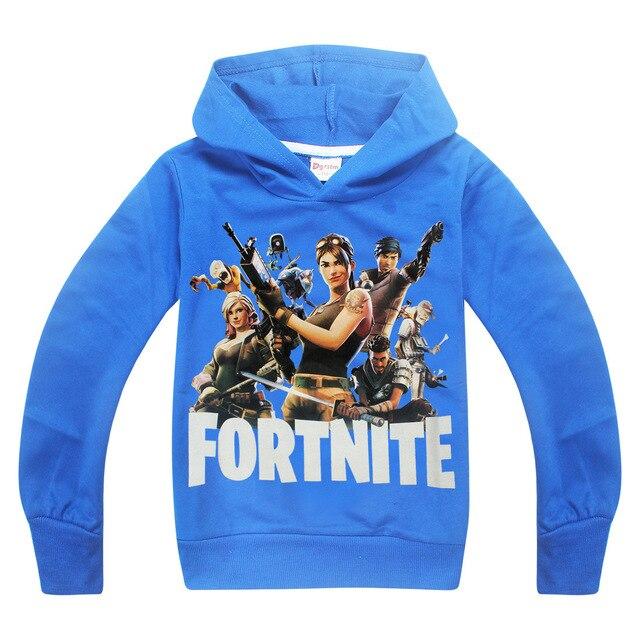 roblox fortn Minecraft Autumn My World Cartoon Long Sleeve T-shirt Boys Girls gta 5 coat gta 5 Tops Sweatshirts coat hoodies 2