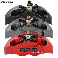 Motorcycle Scooter Hole Pitch 82mm 4 Piston Brake Calipers Pump For Yamaha Aerox Nitro JOG BWS