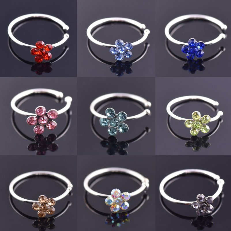 10Pcs Medical Steel Crystal...