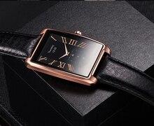 Smart uhr Vintage Lederband smartwatch für Samsung S4/Hinweis4/Note5 HTC xiaomi für Android-Handy LFab