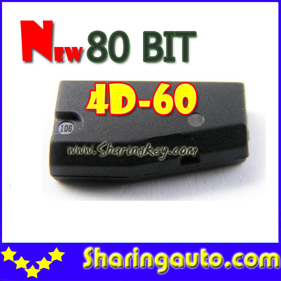 bilder für Freies verschiffen 80 Bit 4D-60 Transponder Chip Heißes Angebot 10 teil/los mit niedrigsten preis