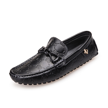 IVG 2016 Men's Casual Genuine Leather Boat Shoes Slip-on Penny Loafers Moccasin Fashion Flat Shoes Men's Loafer Shoes New
