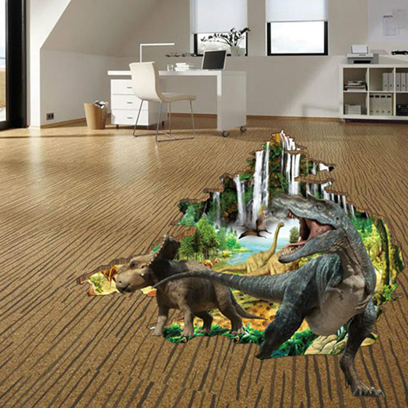 3d Dinosaur Wall Art online buy wholesale dinosaur wall sticker from china dinosaur