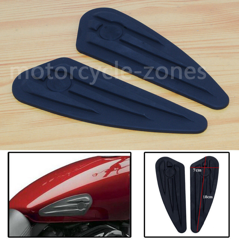 Automobiles & Motorcycles Decals & Stickers Peel Stickers Tank Pads Patella Knee Protector For Harley Sportster Dyna Street 500 750 Softail Deluxe Flstn Nightster Iron 883