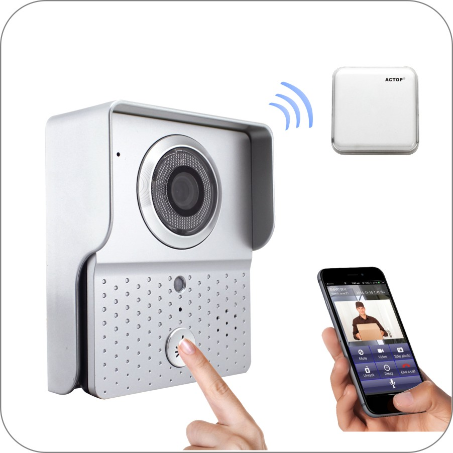 HD 720P Wireless WIFI IP Doorbell Intercom System HD 720P Wireless WIFI IP Doorbell Intercom System